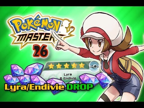 Lyra & Endivie DROP Part 2 - Banner Opening am AirPort - Pokemon Masters #26  [GER]