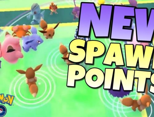 NEW SPAWN POINTS in Pokémon GO!  This is HUGE For the Future
