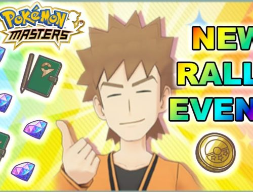 FREE GEMS, MORE COINS, GYM NOTES AND MORE! NEW SURPRISE RALLY EVENT! | Pokemon Masters