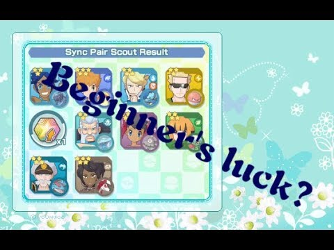 Pokemon Masters - Beginner Sync Pair Scout (6000 Gems)