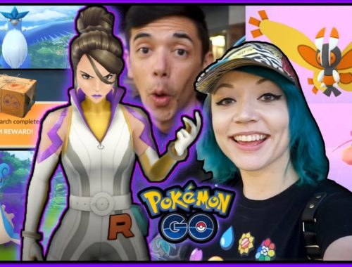 DEFEATING HIS GIRLFRIEND IN POKÉMON GO!