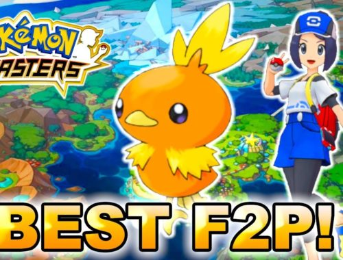 RECRUITING THE BEST F2P SYNC PAIR IN THE GAME! NEW MAIN CHARACTER TORCHIC! | Pokemon Masters