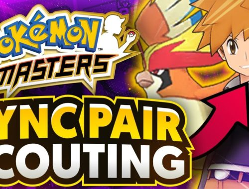 Sync Pair Scouting for Blue & Mega Pidgeot in Pokemon Masters