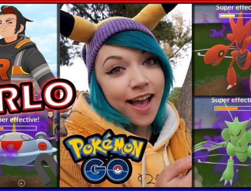 BEATING ARLO TO FIND GIOVANNI IN POKÉMON GO!
