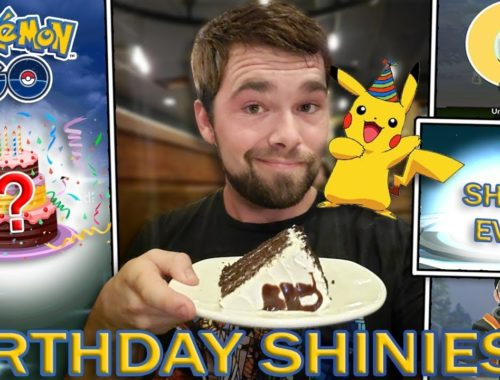 GETTING A BIRTHDAY SHINY POKEMON! (Pokemon GO)