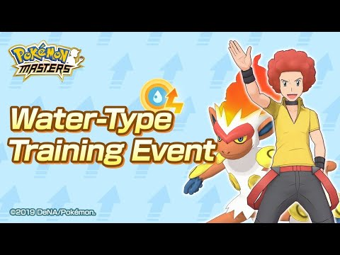 [Pokemon Masters] Events - Water-Type Training Event (Normal + Hard) - Take 2
