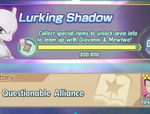 [Pokemon Masters] Legendary Event - Lurking Shadow (A Questionable Alliance) - GETTING GIOVANNI