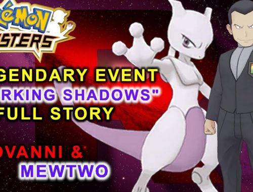 "Pokémon Masters - LEGENDARY EVENT! ""Lurking Shadow"" FULL Story featuring Giovanni and Mewtwo!"