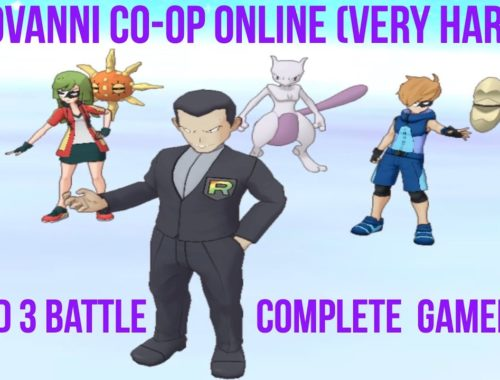 Pokemon Masters: Take Down Giovanni! Round 3 | Random Co-op Online (Very Hard) Gameplay
