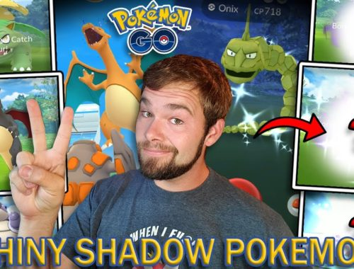 I CAN'T BELIEVE THIS LUCK! X2 SHADOW SHINY POKEMON CAUGHT! EVOLUTION EVENT RAID HOUR! (Pokemon GO)