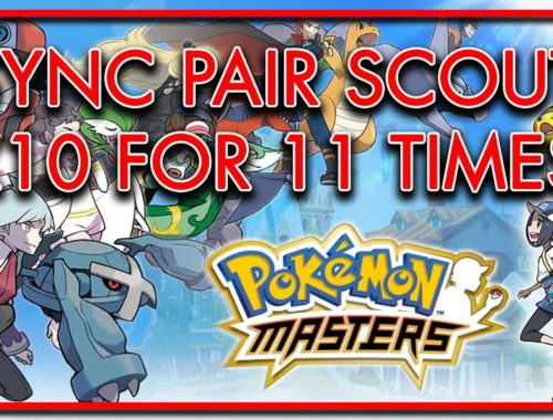 Just Drawing Sync Pair x10 for 11 times | Pokemon Masters
