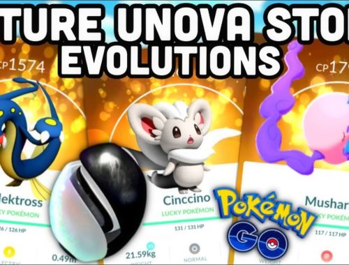 SAVE UNOVA STONES FOR THESE FUTURE EVOLUTIONS IN POKEMON GO