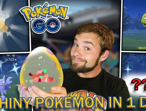 THIS WAS CRAZY! 5 SHINY POKEMON IN 1 DAY! (Pokemon GO Evolution Event)