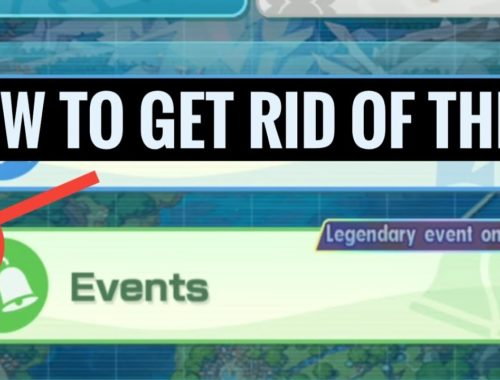 """[Pokemon Masters] Legendary Event - Lurking Shadow (How to Get Rid of the Annoying """"!"""")"""