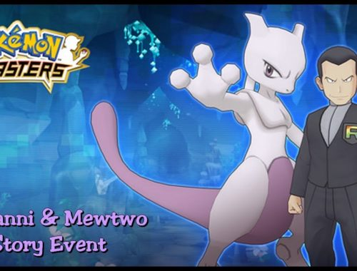 POKEMON MASTERS : GIOVANNI & MEWTWO STORY EVENT GAMEPLAY !!