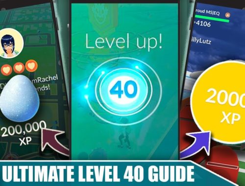 FASTEST WAY TO *LEVEL 40*! COMPLETE RANK UP STRATEGY FOR MAX XP | POKÉMON GO